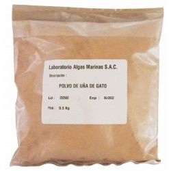 Cats Claw Organic (Uncaria tomentosa) pulver (500 g)